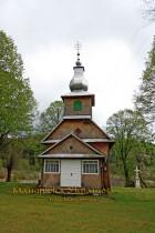 Пашковець. Дерев'яна церква Різдва Пресвятої Богородиці