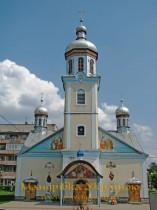 Свалява. Церква Різдва Богородиці