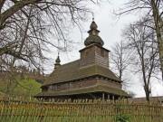 Гукливий. Дерев'яна церква св. Духа