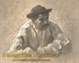 Виноградів. Угорський художник Імре Ревес