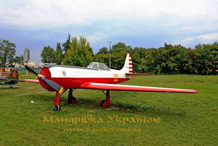 Музей авіації. Як-18 ПМ