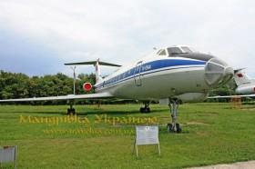 Музей авіації. Ту-134