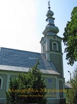 Чинадійово. Церква Св. Миколи Чудотворця