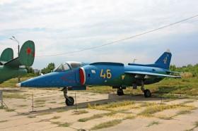 Музей авіації. Як-38