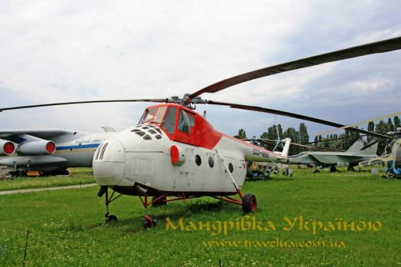 Музей авіації. Мі-4А