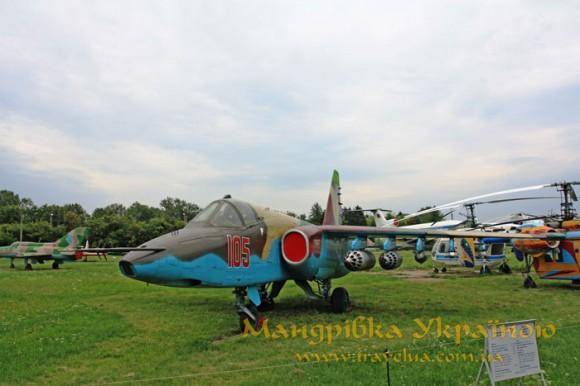 Музей авіації. Су-25