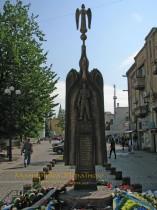 Мукачево. Пам'ятник воїнам-афганцям