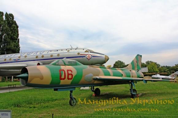 Музей авіації. Cу-7Б