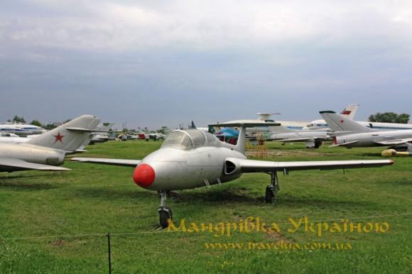 """Музей авіації. L-29 """"Дельфін"""""""