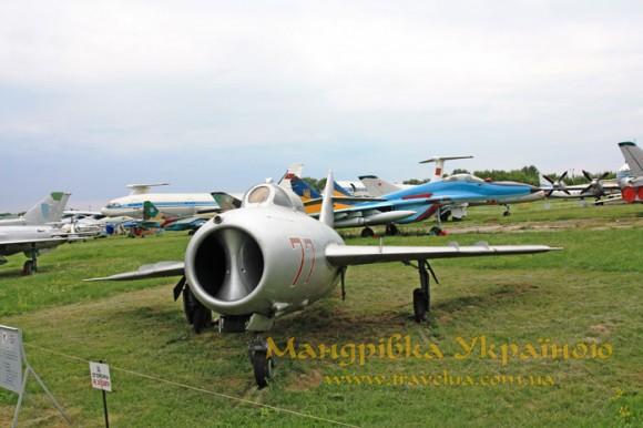 Музей авіації. МіГ-17