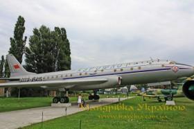 Музей авіації. Ту-104