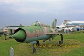 Музей авіації. МИГ-21ПФМ