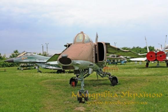 Музей авіації. МіГ-27K