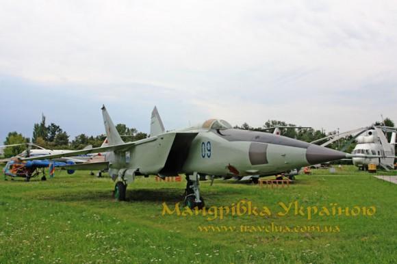 Музей авіації. МіГ-25РБ