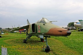 Музей авіації. МіГ-23БМ