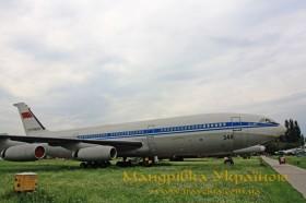 Музей авіації. Іл-86