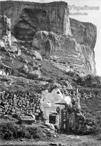 Качи-Кальйон. Скит св. Анастасії, 1900-і рр. Фотоательє В.Сокорнова.