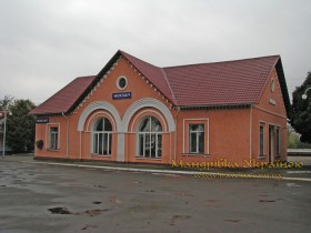 Носівка. Вокзал
