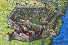 Білгород-Дністровський. Аккерманська фортеця
