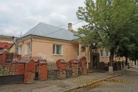 Луцьк. Будинок , в якому в 1709 р. зупинявся Петро І.