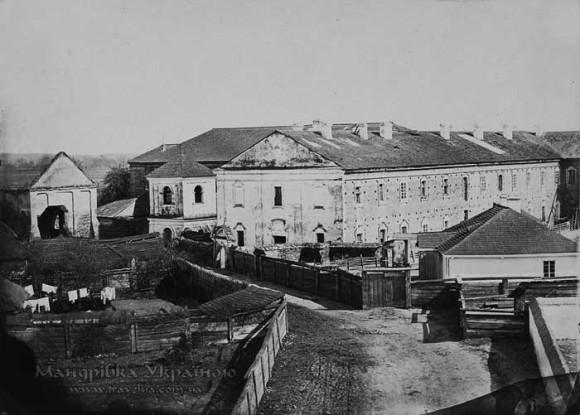 Луцьк. Монастир бригідок 1870-ті рр.