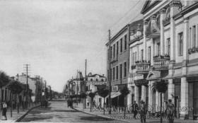 Луцьк. Вулиця Ягеллонська, 20-30 ті рр. 20 ст.