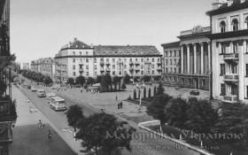 Луцьк. Проспект Волі, 1960-і рр.
