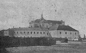 Луцьк. Бернардинський монастир, 1870 р.