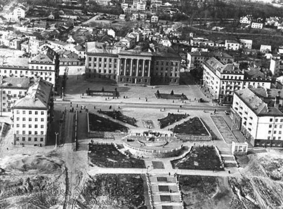 Луцьк. Проспект Волі, 1960-70-і рр.