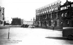 Харків. Площа Рози Люксембург, 1941 р.