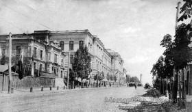 Київ, вул. Воровського № 24. Перше комерційне училище