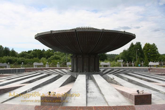 Буки, фонтан Дружби народів