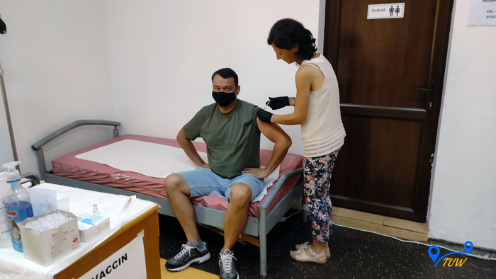Как мы в Румынии вакцинировались и получили сертификат вакцинации.